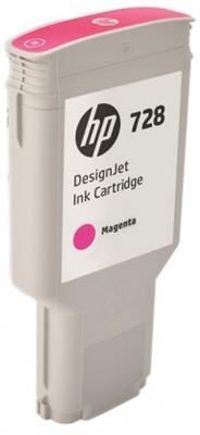 Картридж HP 728 F9K16A для Designjet T730/T830 пурпурный картридж hp 728 f9k17a для dj t730 голубой