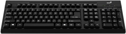 Клавиатура Genius KB-125 USB черный genius hs 300a silver