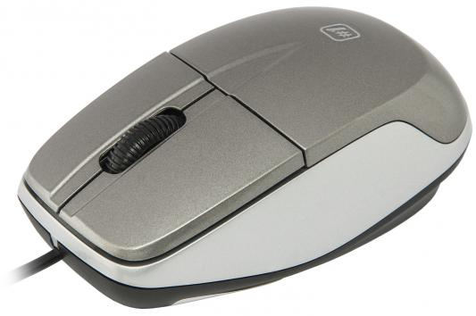 Мышь проводная DEFENDER MS-940 серый USB