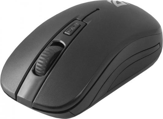 цена на Мышь беспроводная DEFENDER Datum MS-005 чёрный USB 52005