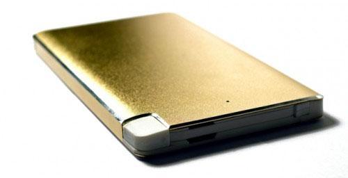 Портативное зарядное устройство KS-is KS-277 6000мАч microUSB золотистый