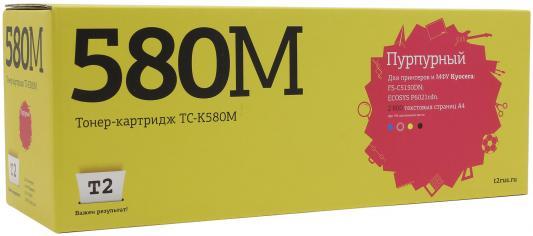 Картридж T2 TC-K580M для Kyocera FS-C5150DN/ECOSYS P6021cdn пурпурный 2800стр resin assembly kits 1 9 200mm police girl 200mm unpainted kit resin model free shipping