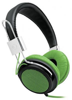 Наушники BBK EP-3500S черно-зеленый