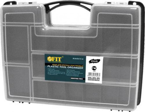 Ящик для крепежа Fit 29.5х22х7.6см 65646 ящик для крепежа stels