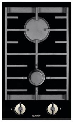 Картинка для Варочная панель газовая Gorenje GC341INI черный