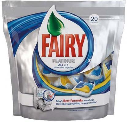Средство Fairy Platinum All in 1 для мытья посуды для посудомоечных машин 20шт 80232607