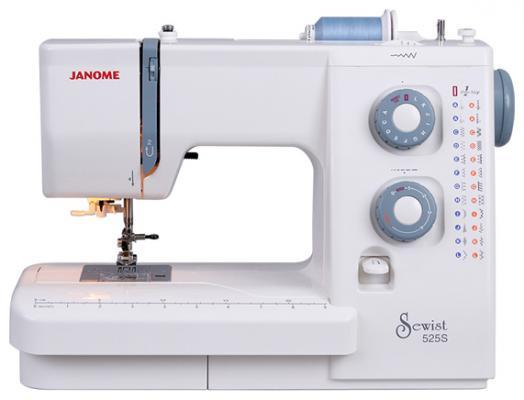 Швейная машина Janome 525 S белый швейная машина janome sew line 500 s
