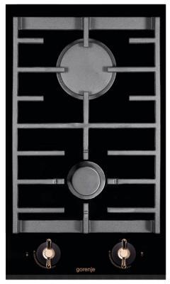 Варочная панель газовая Gorenje GC341INB черный газовая варочная панель gorenje k6n20ix k6n20ix