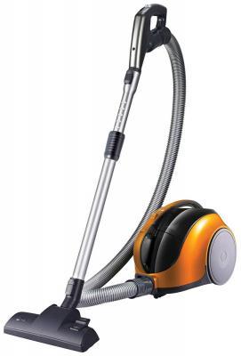 Пылесос LG V-K74W25H без мешка сухая уборка 1250Вт оранжевый пылесос lg v k69401n