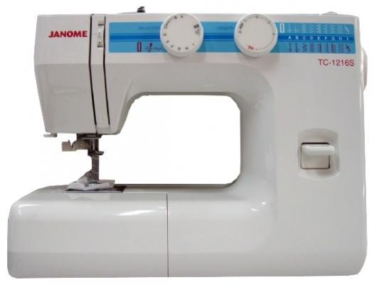 Швейная машина Janome TC-1216S белый швейная машина janome tc 1222s белый [tc 1222s]