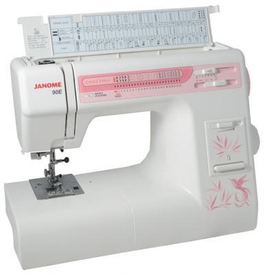 Швейная машина Janome 90E белый цена и фото