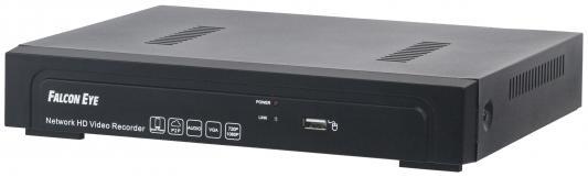 Видеорегистратор сетевой Falcon Eye FE-NR-5104 POE USB VGA HDMI RJ-45 PoE до 4 каналов