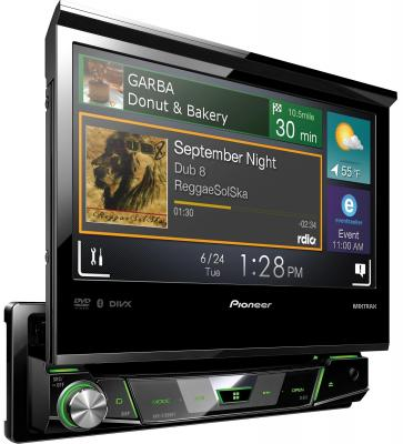 Автомагнитола Pioneer AVH-X7800BT 7 800x480 USB MP3 CD DVD FM RDS 1DIN 4x50Вт черный автомагнитола pioneer avh x5800bt 7 800x480 usb mp3 cd dvd fm rds 2din 4x50вт черный