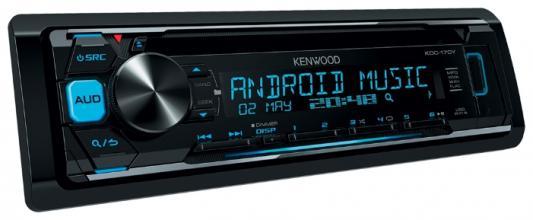 Автомагнитола Kenwood KDC-170Y USB MP3 CD FM RDS 1DIN 4х50Вт пульт ДУ черный