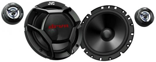 Автоакустика JVC CS-DR1700C компонентная 2-полосная 17см 55Вт-360Вт колонки автомобильные jvc cs dr1700c компонентные 360вт