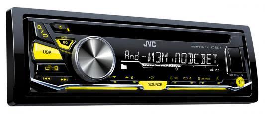 Автомагнитола JVC KD-R577 USB MP3 CD FM 1DIN 4x50Вт черный автомагнитола kenwood kdc 210ui usb mp3 cd fm 1din 4х50вт черный