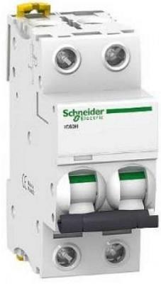 Автоматический выключатель Schneider Electric iC60L 2П 4A C A9F94204
