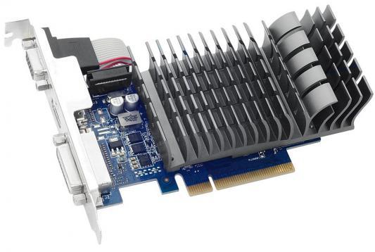Видеокарта 1024Mb ASUS GeForce GT710 PCI-E 64bit GDDR3 DVI HDMI CRT HDCP 710-1-SL-BRK Retail