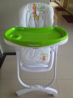 Стульчик для кормпления Baby Care Trona (green) коляска baby care jogger cruze green