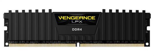 Оперативная память 16Gb PC4-24000 3000MHz DDR4 DIMM Corsair CMK16GX4M1B3000C15 оперативная память 128gb 8x16gb pc4 24000 3000mhz ddr4 dimm corsair cmr128gx4m8c3000c16w
