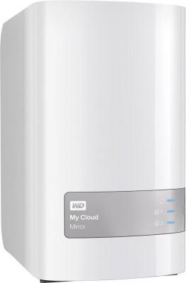 Сетевое хранилище WD My Cloud Mirror 2xHDD 8Tb WDBWVZ0080JWT-EESN