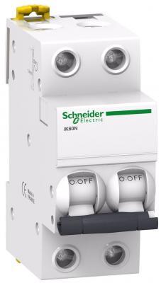 Автоматический выключатель Schneider Electric iC60N 2П 25A C A9F79225 автоматический выключатель schneider electric ic60n 2п 10a c a9f79210