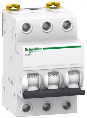 Автоматический выключатель Schneider Electric iC60N 3П 10A C A9F79310 автоматический выключатель schneider electric ik60 3п 10a c a9k24310