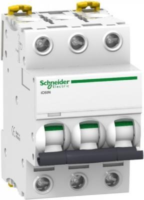 Автоматический выключатель Schneider Electric iC60N 3П 16A D A9F75316