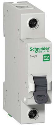 Автоматический выключатель Schneider Electric EASY 9 1П 10A B EZ9F14110 выключатель автоматический schneider electric easy 9 ez9f34110 10a тип c 4 5ka 1п 230в 1мод