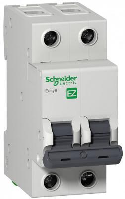 Автоматический выключатель Schneider Electric EASY 9 2П 16A C EZ9F34216 автоматический выключатель schneider electric ez9f34416 easy 9 4p 16a c