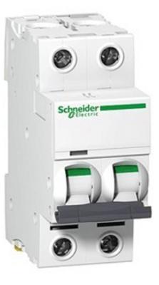 Автоматический выключатель Schneider Electric EASY 9 2П 50A C EZ9F34250 выключатель автоматический schneider electric resi9 3 полюса 16 a