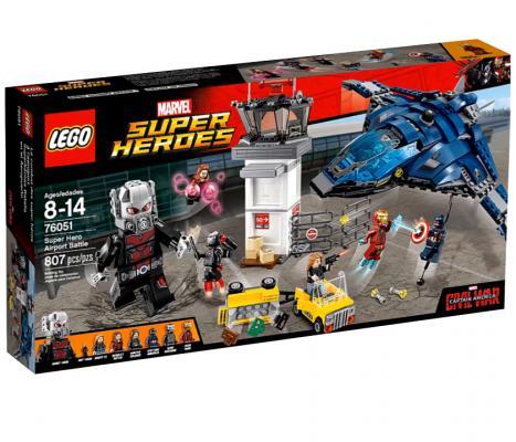 Конструктор Lego Super Heroes: Сражение в аэропорту 807 элементов 76051