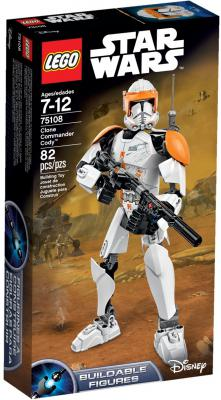 Конструктор Lego Star Wars Клон-коммандер Коди 82 элемента 75108