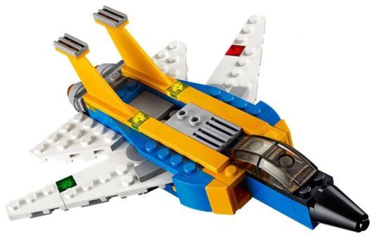 Конструктор LEGO Криэйтор Реактивный самолет 100 элементов 31042