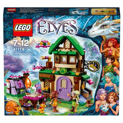 Конструктор Lego Elves: Отель - Звёздный свет 343 элемента 41174
