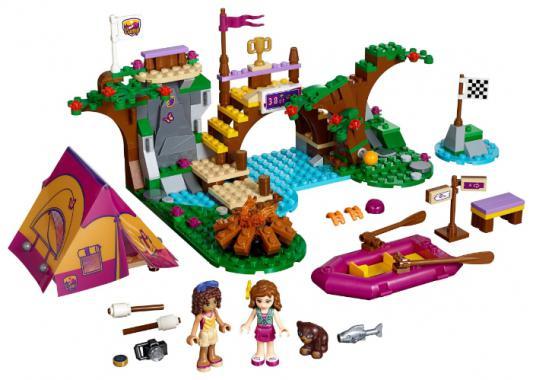 Конструктор Lego Friends Подружки Спортивный лагерь сплав по реке 320 элементов 41121