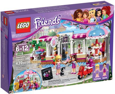 Конструктор Lego Friends Подружки Кондитерская 439 элементов 41119