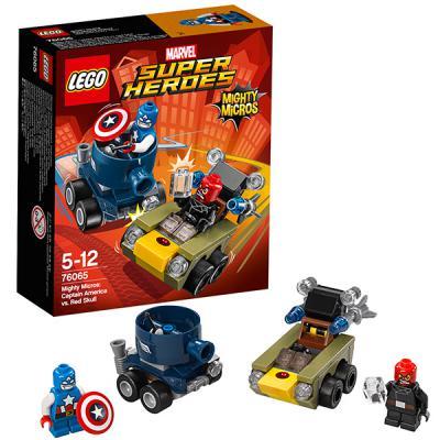 Конструктор Lego Super Heroes: Капитан Америка против Красного Черепа 95 элементов 76065 цена и фото