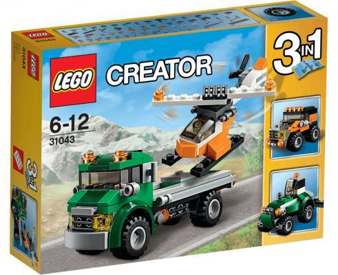 Конструктор Lego Creator: Перевозчик вертолета 124 элемента 31043