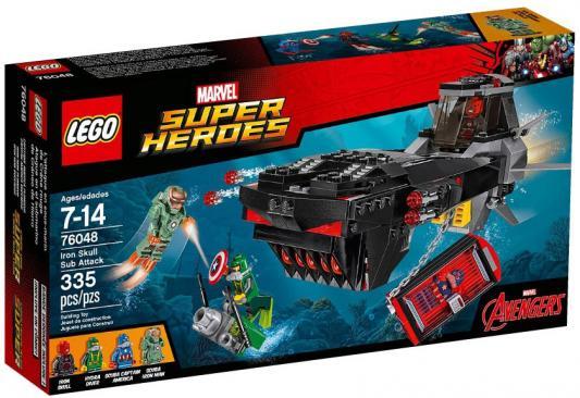 Конструктор Lego Super Heroes: Похищение Капитана Америка 335 элементов 76048