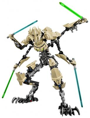 Конструктор Lego Star Wars Генерал Гривус 186 элементов 75112