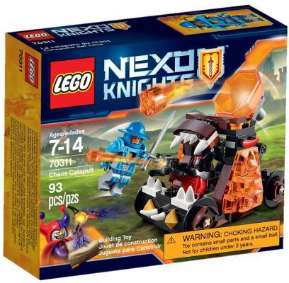 Конструктор Lego Нексо Безумная катапульта 93 элемента 70311