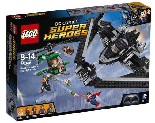 Конструктор Lego Super Heroes: Поединок в небе 517 элементов 76046