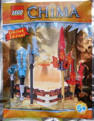 Конструктор Lego Legends of Chima: Набор оружия 38 элементов 391504