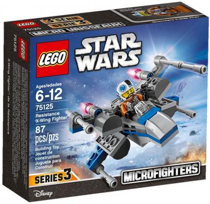 Конструктор LEGO Star Wars Истребитель Повстанцев 87 элементов 75125