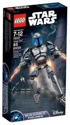 Конструктор Lego Star Wars: Джанго Фетт 85 элементов 75107