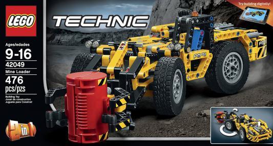 Конструктор Lego Technic: Карьерный погрузчик 476 элементов 42049
