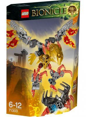 Конструктор Lego Bionicle: Тотемное животное Огня Икир 77 элементов 71303