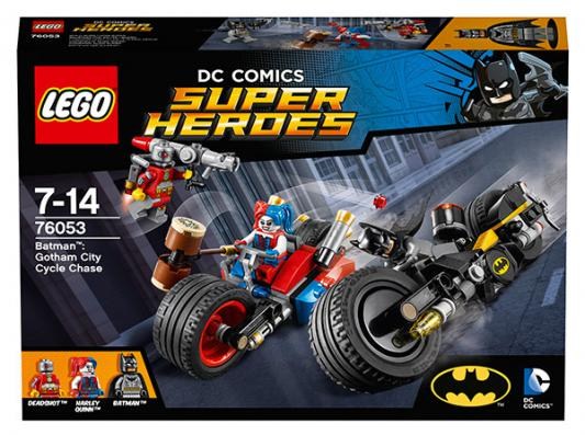 Конструктор Lego Super Heroes Бэтман: Погоня на мотоциклах по Готэм-сити 224 элемента 76053