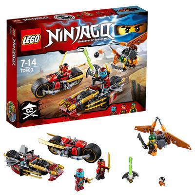 Конструктор LEGO Ninjago: Погоня на мотоциклах 231 элемент 70600